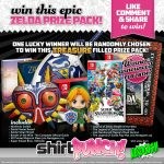 ShirtPunch MASSIVE Zelda Giveaway: Win A Nintendo Switch And More!
