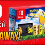 Pokémon Let's Go Pikachu Nintendo Switch Console GIVEAWAY