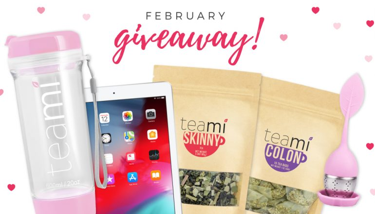 Teami February Giveaway: Win An iPad [CLOSED]