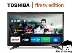 GiveawayGeek Toshiba Fire TV Giveaway: Win A 32″ Toshiba Smart LED TV – Fire TV Edition [CLOSED]