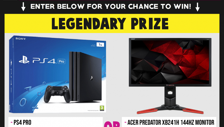 Prestige Clips Giveaway: Win A PS4 Pro OR Acer Predator Gaming Monitor [CLOSED]