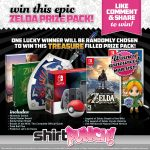 Win Nintendo Switch Zelda Bundle