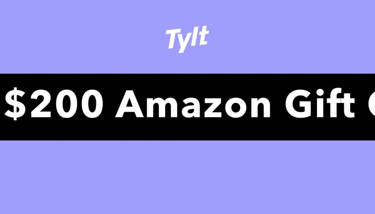 The Tylt Giveaway: Win $200 Amazon Gift Card