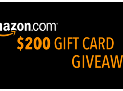 April Giveaway: Win $200 Amazon Gift Card (Multiple Winners) [CLOSED]
