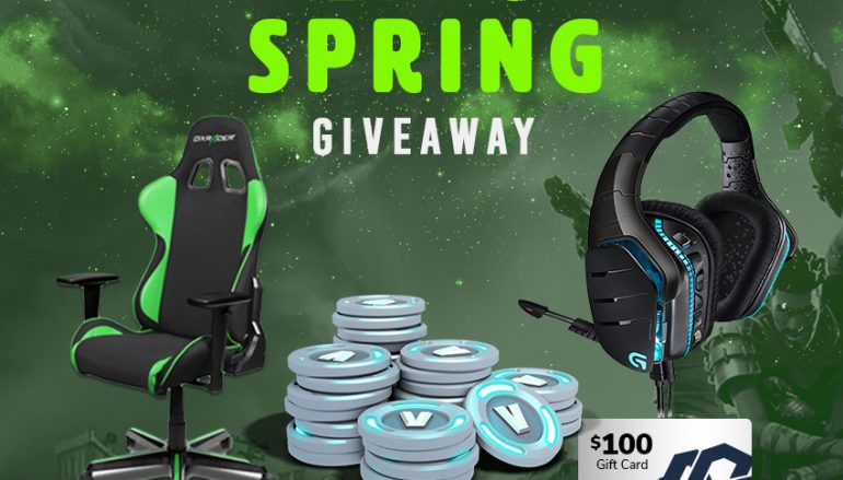 Epic Spring Giveaway: Win A DXRacer Gaming Chair, Logitech Gaming Headset And More! [CLOSED]
