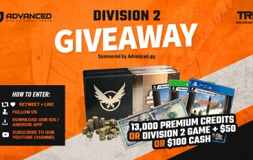 Division 2 Giveaway: Win $100 Cash [CLOSED]