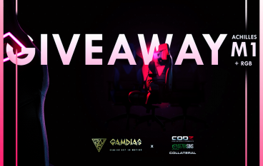 Collateral Network + GAMDIAS Giveaway: Win A GAMDIAS Achilles M1 RGB Gaming Chair