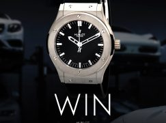YourWatch Giveaway: Win A HUBLOT CLASSIC FUSION AUTOMATIC BLACK DIAL 45MM (Worth $8,000) [CLOSED]