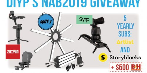 Win Cinematography Gear