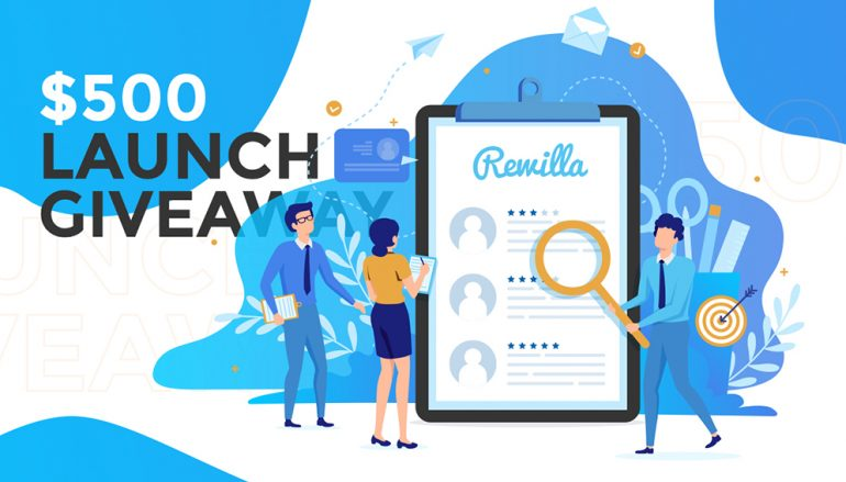 Rewilla $500 Launch Giveaway: Win $500 Cash | Blogging Contests and