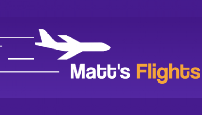 Matt's Flights 2 Free Tickets Giveaway: Win 2 FREE ROUNDTRIP TICKETS TO YOUR DREAM DESTINATION