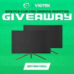 Viotek GN27C2 Curved Gaming Monitor Giveaway: Win A Gaming Monitor