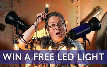 TheSlantedLens LED Lights Giveaway: Win Photographer LED Lights (Multiple Winners, Prizes Totaling Over $2,000)