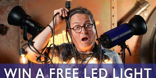 Photographer LED Light Giveaway