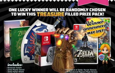 The MASSIVE MAY Zelda + Switch Giveaway: Win A Nintendo Switch [CLOSED]
