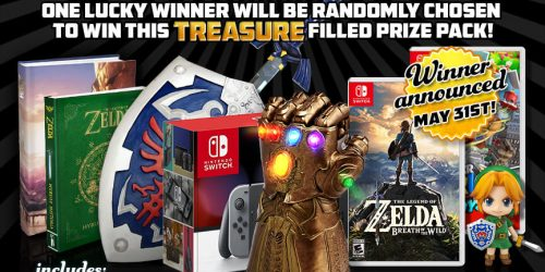 The MASSIVE MAY Zelda + Switch Giveaway