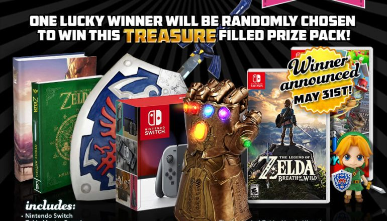 The MASSIVE MAY Zelda + Switch Giveaway: Win A Nintendo Switch