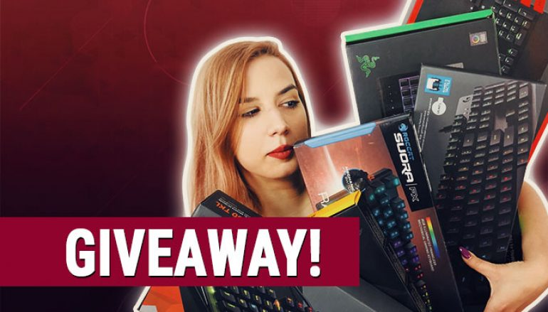 Unleash the Gamer Keyboard Giveaway: Win A Gaming Keyboard Of Your Choice [CLOSED]