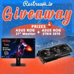 Win A ASUS ROG GAMING MONITOR And ASUS ROG STRIX RTX 2070
