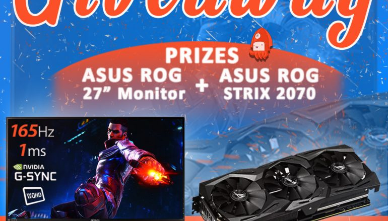 Ultra Visual Overhaul Giveaway: Win A ASUS ROG GAMING MONITOR And ASUS ROG STRIX RTX 2070 [CLOSED]