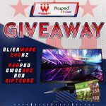 Wizards May Giveaway: Win An Alienware 25 Gaming Monitor