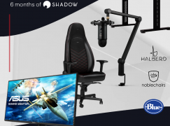 Shadow's Ultimate Gaming Setup Giveaway: Win Gaming Gear Including Asus VG278Q Monitor, Blue Microphone Yeticaster And More!