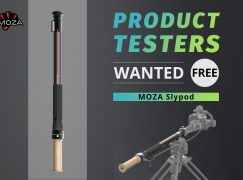 Product Testers Wanted Giveaway: Win The World's First 2-in-1 Motorized Slider & Monopod