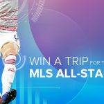 Win a trip for two to the 2019 MLS all star game in Orlando, FL