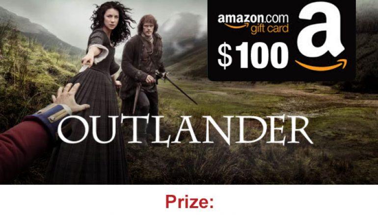 Outlanders Season 3 Fan Giveaway: Win a $100 Amazon Gift Card [CLOSED]