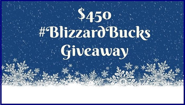 Blizzard Bucks Giveaway
