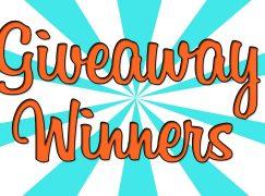 Giveaway Winners 12/8/17