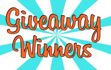 Giveaway Winners 11/26/17