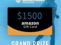 Blueprint for Athletes Amazon GC Giveaway: Win A $1500 Amazon Gift Card [CLOSED]