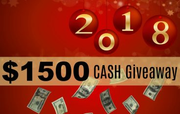 New Years $1500 Cash Giveaway: Win $500 Cash Or Amazon Gift Card (3 Winners) [CLOSED]