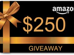 JustFreeStuff $250 Amazon Gift Card Giveaway: Win A $250 Amazon Gift Card [CLOSED]