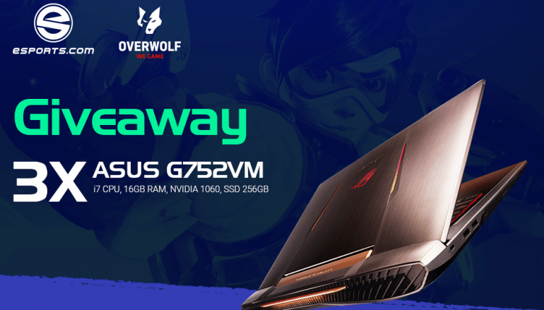 eSports ASUS Gaming Laptop Giveaway: Win An ASUS Gaming Laptop [CLOSED]
