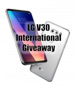 LG V30 Giveaway