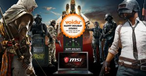MSI Laptop Giveaway