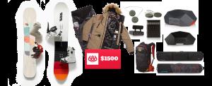 Snowboarding Trip Giveaway