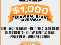 Survival Gear Giveaway: Win $1,000 In Survival Gear [CLOSED]