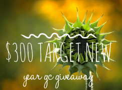 $300 Target New Year GC Giveaway: Win A $300 Target Gift Card  [CLOSED]