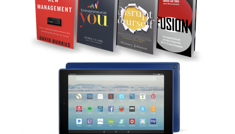 David Burkus Kindle Fire Giveaway: Win A Kindle Fire [CLOSED]
