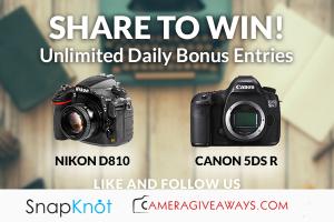 Win A Nikon D810 Or Canon 5DS