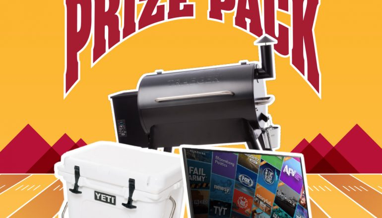 Ultimate Football Prize Pack Giveaway: Win A 65″ LG Flat Screen TV, Traegar Smoker And Yeti Cooler [CLOSED]