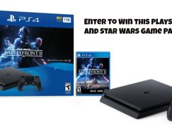 Sweepstakes Advantage PS4 Giveaway: Win A Playstation 4 & Star Wars Game Bundle [CLOSED]