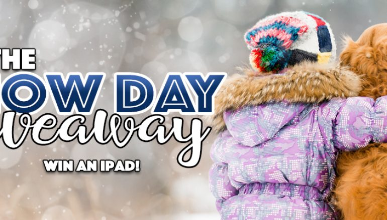 Snow Day Giveaway: Win An iPad [CLOSED]