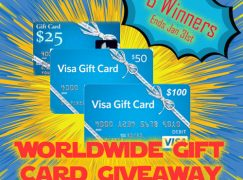 Worldwide Gift Card Giveaway: Win A $100 VISA Gift Card [CLOSED]