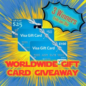 worldwide gift card giveaway
