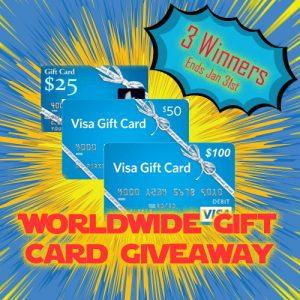 worldwide gift card giveaway