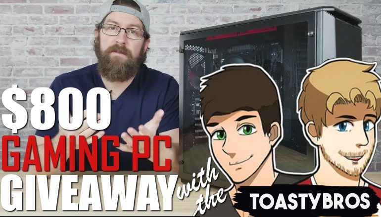 February's $800 Build-A-PC Giveaway: Win $800 In Computer Parts [CLOSED]